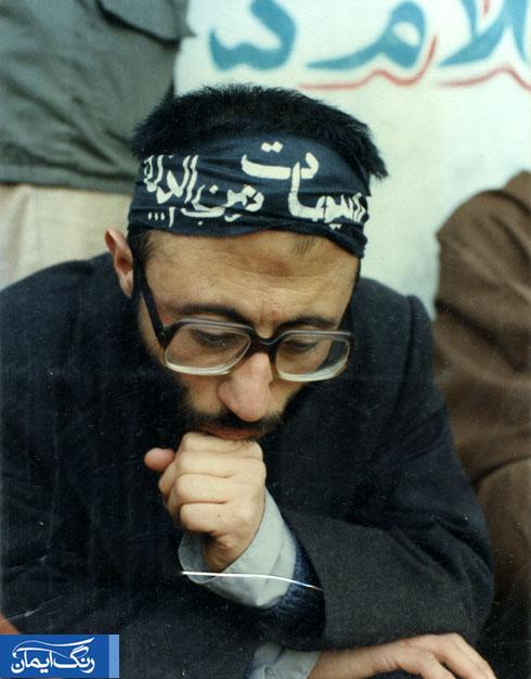 در اندیشه شهادت- معروف ترین عکس سردار حزب الله گیلان