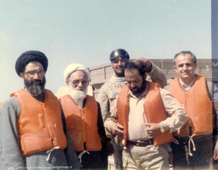 حجت الاسلام پیشوایی در جبهه های جنوب