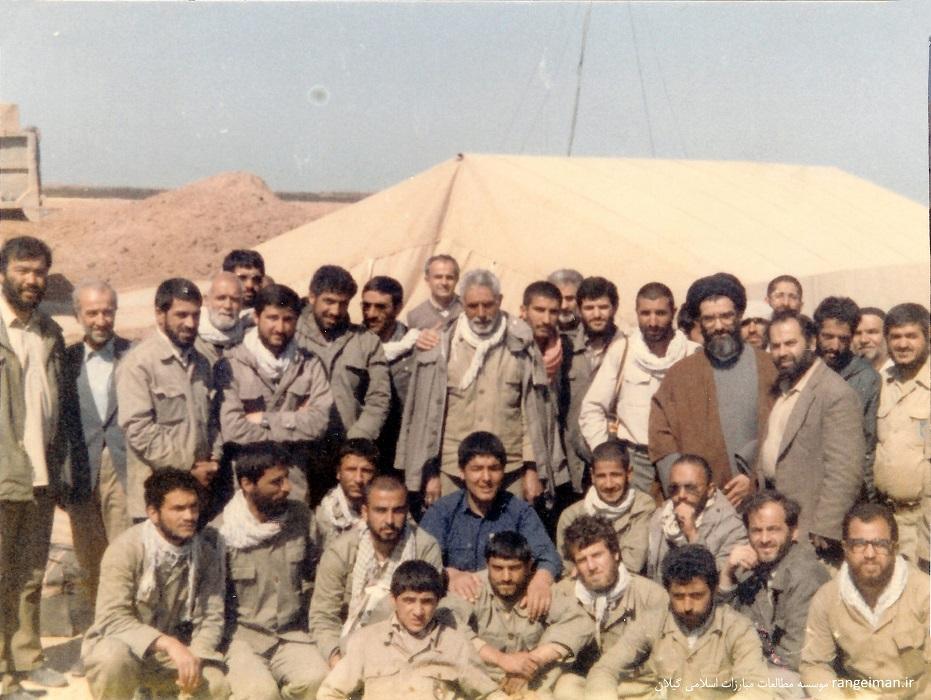 حجت الاسلام پیشوایی در جمع رزمندگان اسلام در خوزستان