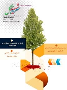 طرح روی جلد ویژه نامه سردار شهید جنگل