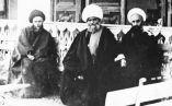 عکسی از آیت الله العظمی خمامی به همراه دو تن از علمای گیلان