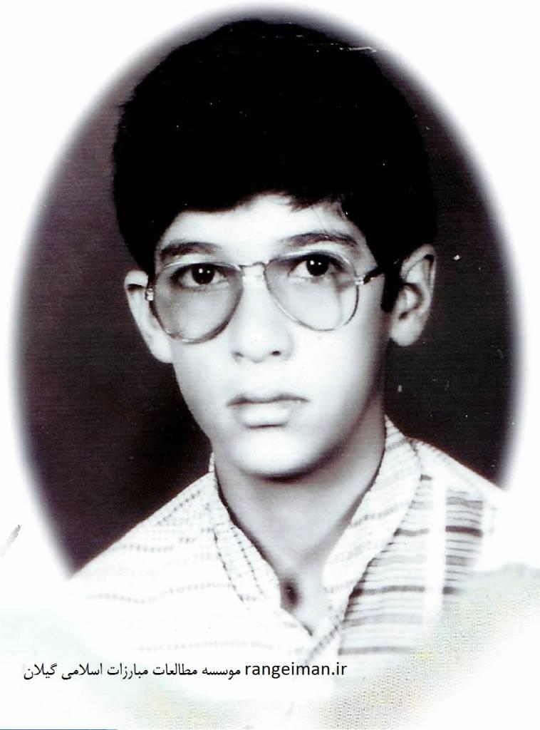 شهید سید مصطفی پیشوایی در 10 سالگی