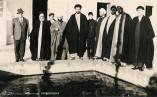 انتشار عکسی جدید از شهید آیت الله سید مصطفی خمینی در بندر انزلی