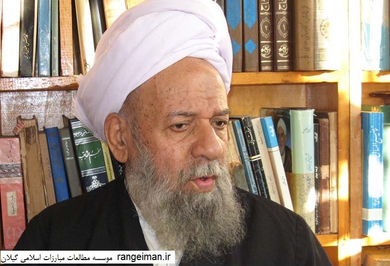 حجت الاسلام والمسلمین عظیم یکتا در سنین پیری