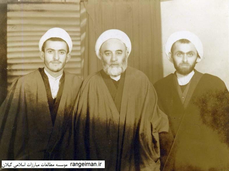 از راست آقایان تقی اکبری، موسی یکتا و محمد اشجری