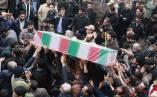 تشییع شهید گمنام در رشت به مناسبت هفته ناجا