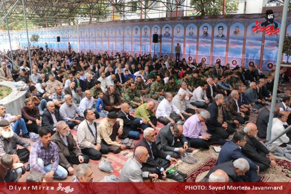 ۷۱- کنگره ملی ۸۰۰۰ شهید استان گیلان در میدان شهرداری رشت