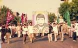 تصاویر تشییع باشکوه و پیکر سردار شهید بیگلو