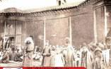 توصیف خواندنی جهانگرد اروپایی از مجلس تعزیه رشت در دوران قاجار+یک عکس تاریخی