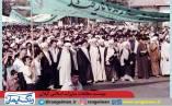 حضور بسیاری از علمای رشت در راهپیمایی بعد از پیروزی انقلاب + تصاویر