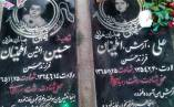 دو کودک شهید گیلانی، سند جنایت ابرقدرتها + تصویر مزار