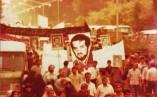 تصاویری از تشییع باشکوه پیکر شهید انصاری در رشت